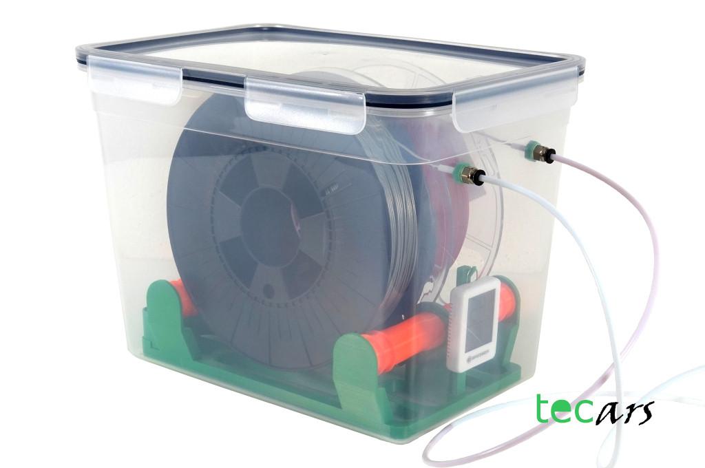 Filament Trockenbox, Spulen bis 75 mm Breite